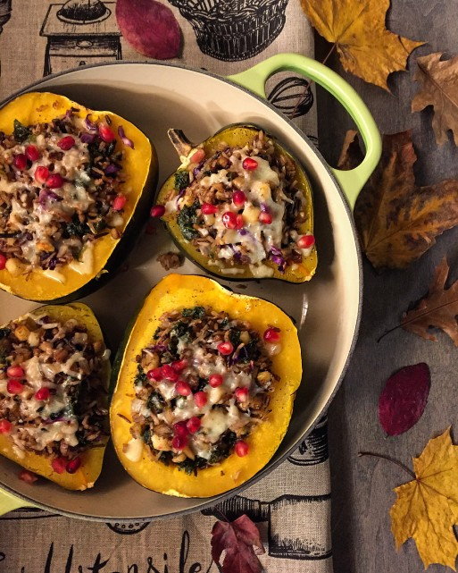 Stuffed Roasted Squash