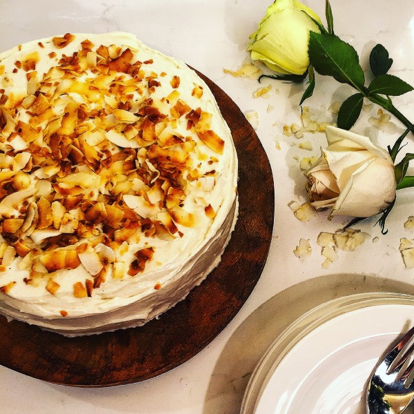 Carrot Cake With Ground Allspice