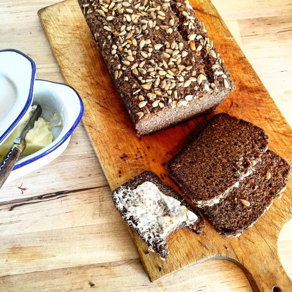 Guilt Free Paleo Brown Bread