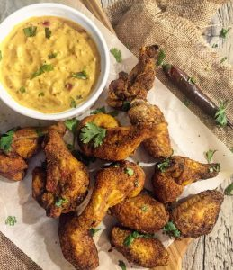 Baked Curry Wings