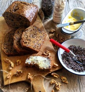 caramelized banana bread