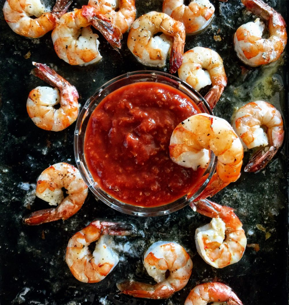 harissa shrimp cocktail