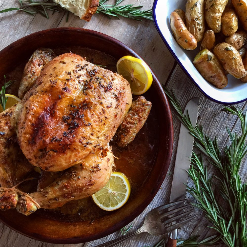 Roast Chicken with Fennel, Rosemary and Lemon | The Lemon ...