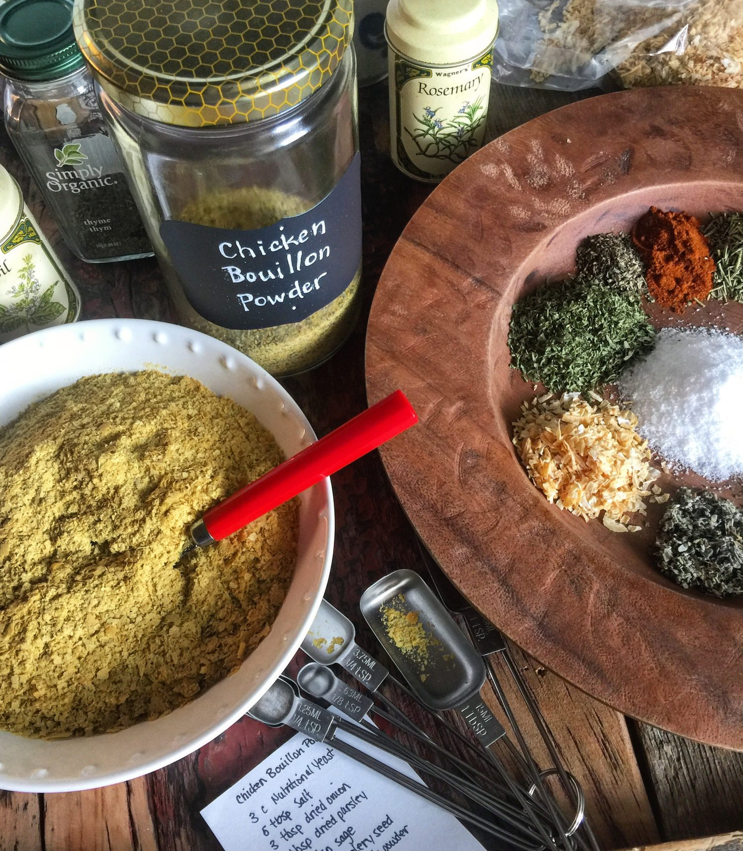 Faux Chicken Bouillon Powder