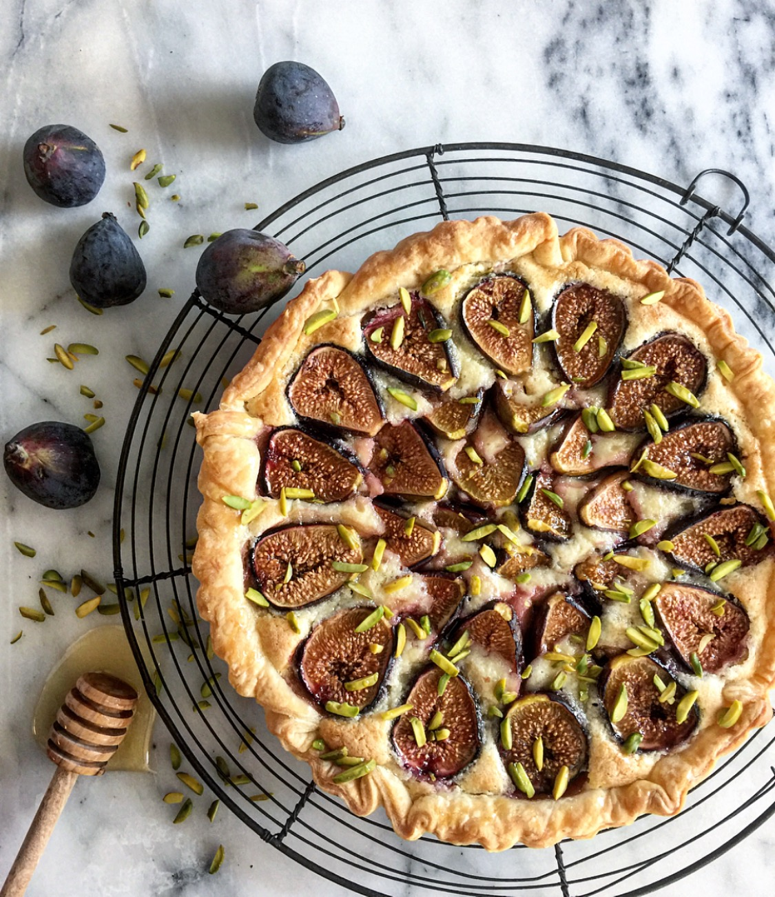 fig and frangipani tart