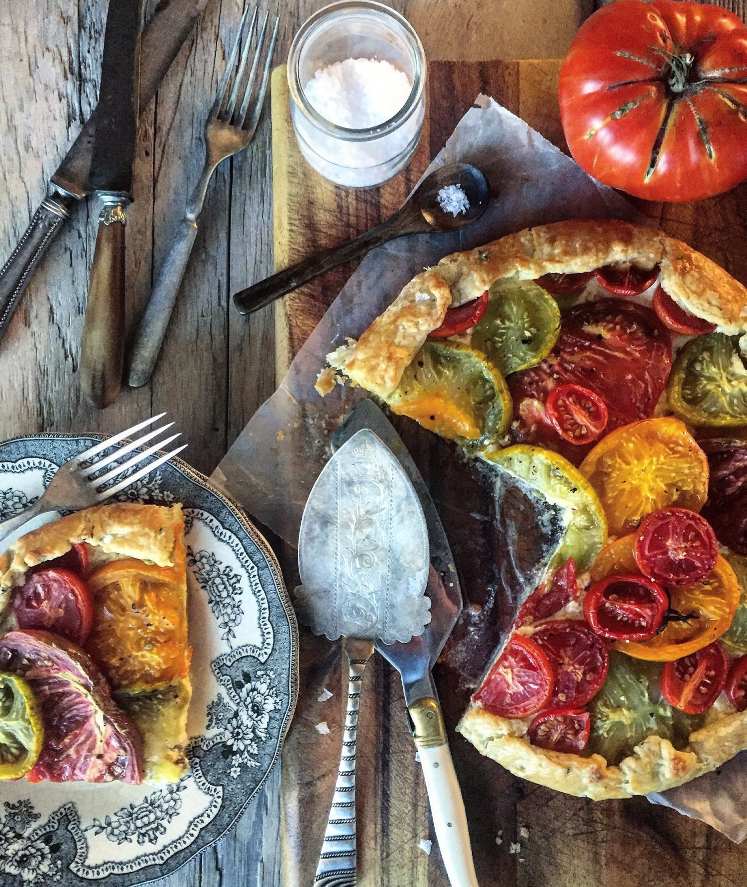 Summer Tomato Crostata