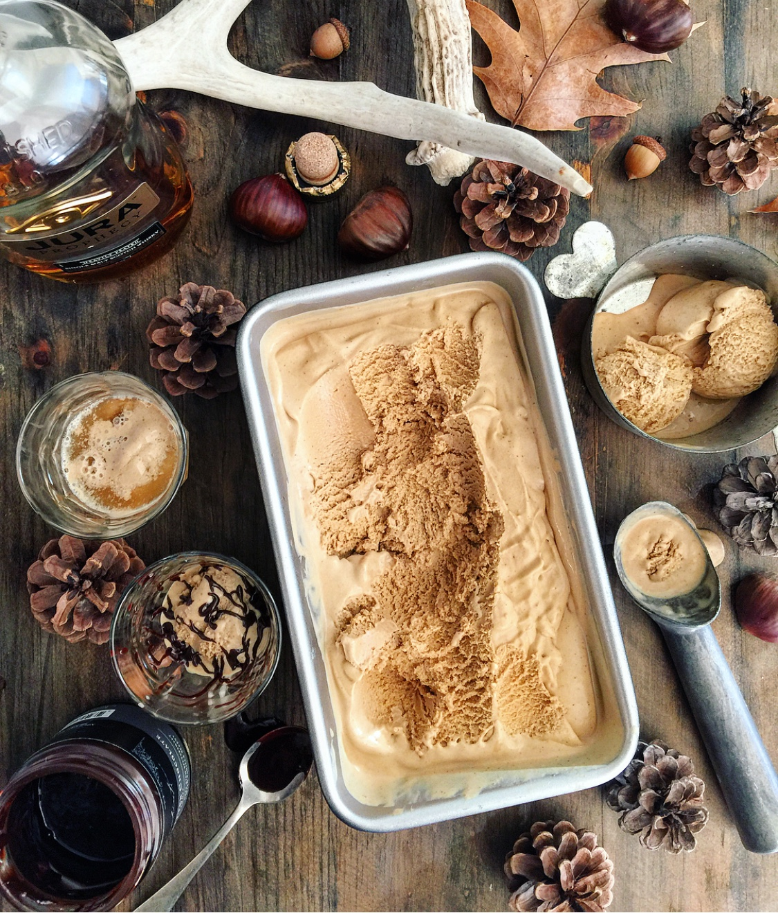 Roasted Chestnut Ice Cream
