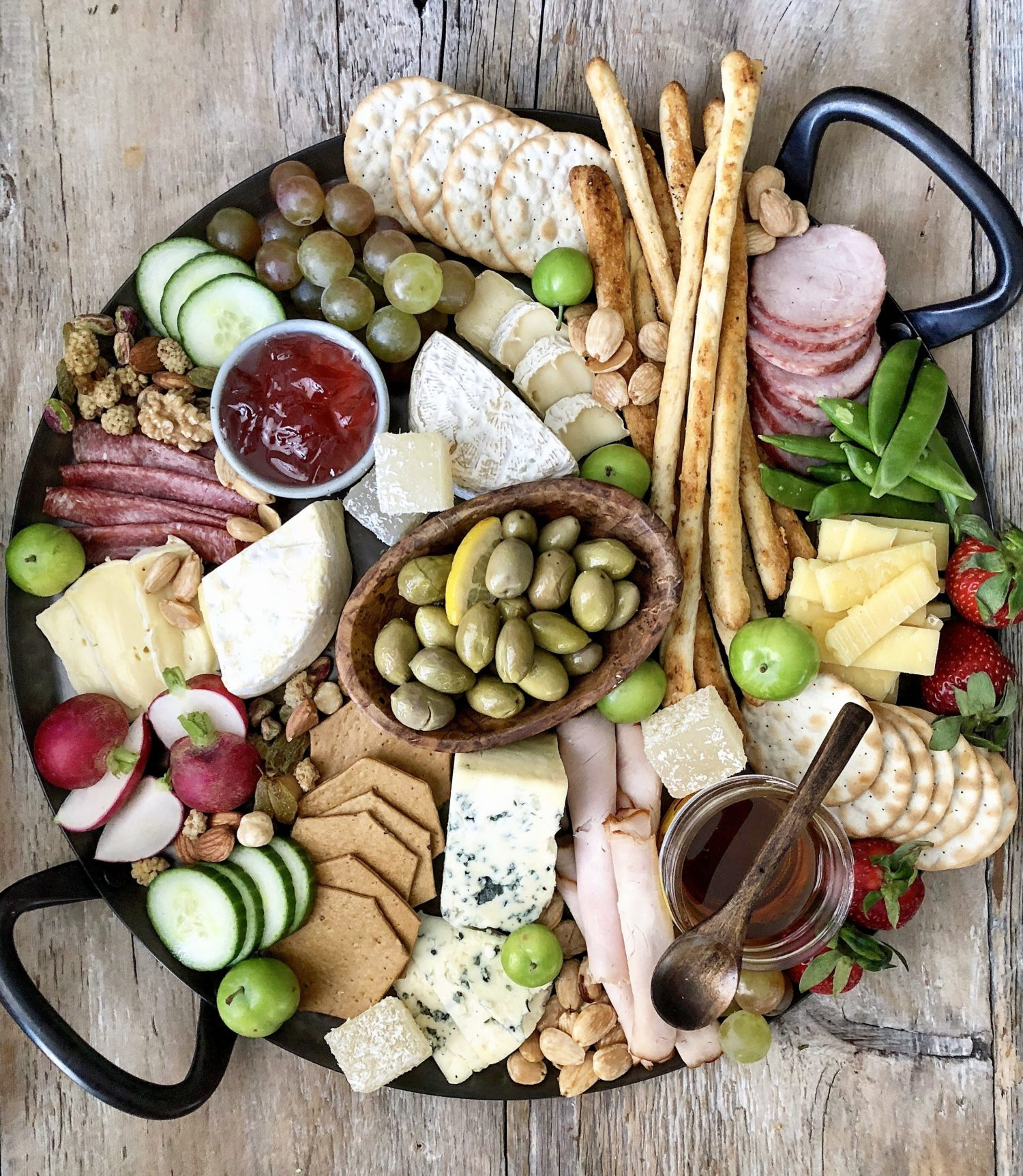 Springtime Cheese Platter