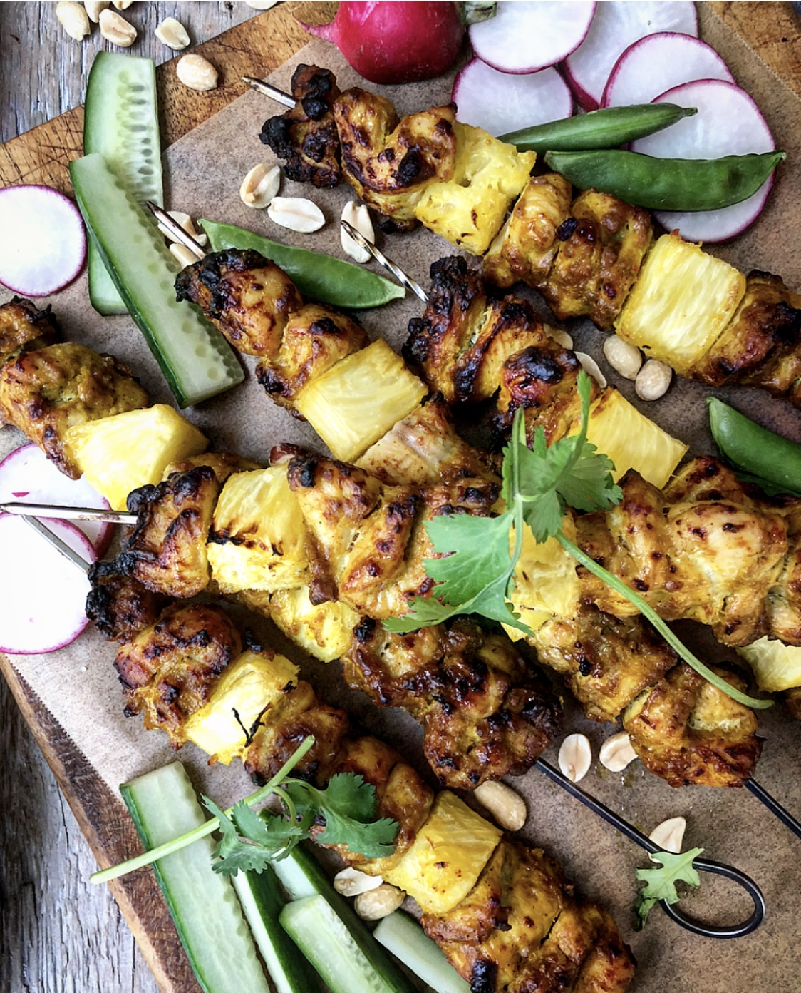 Chicken Pineapple satay