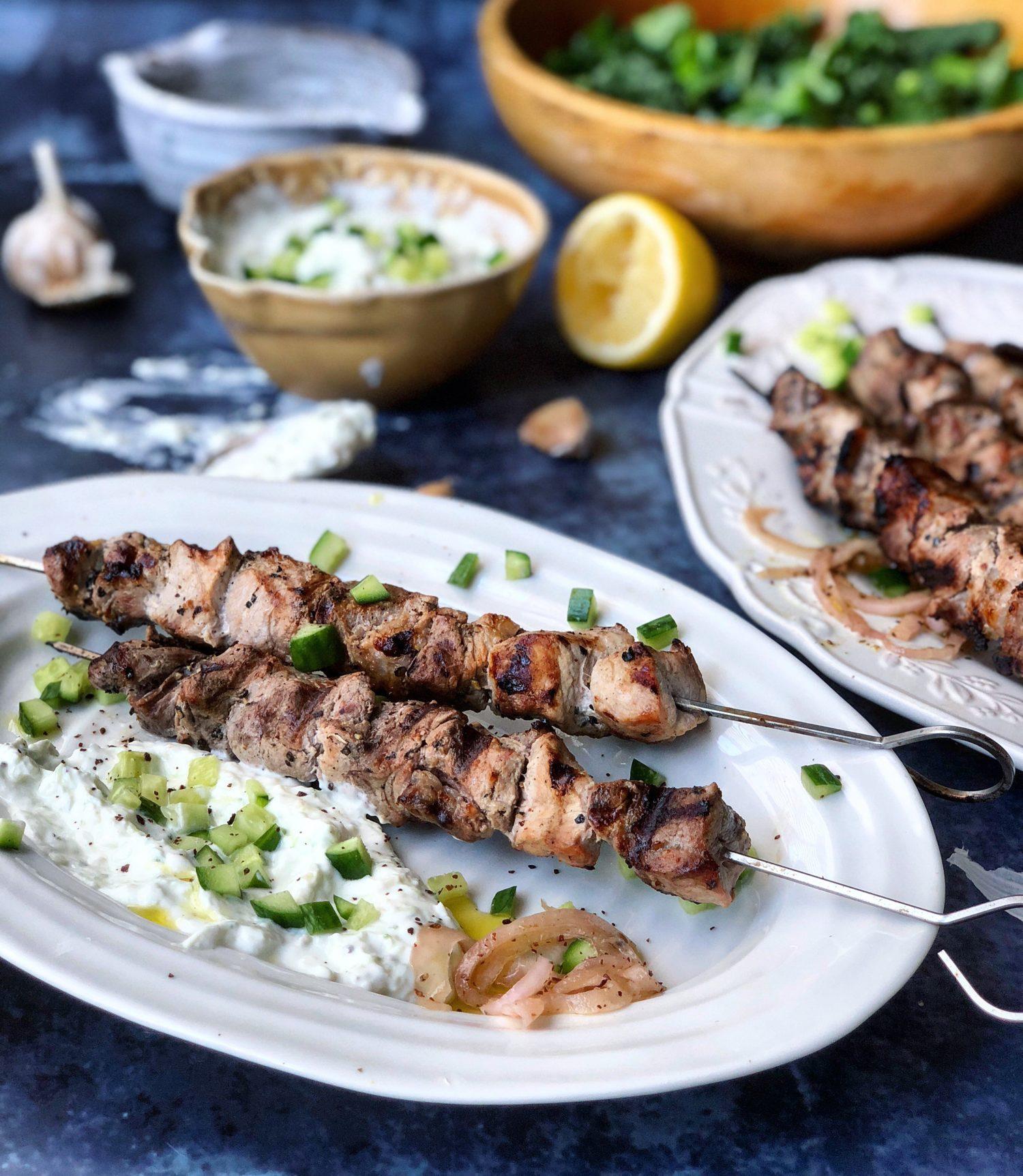 Mediterranean Pork Souvlaki