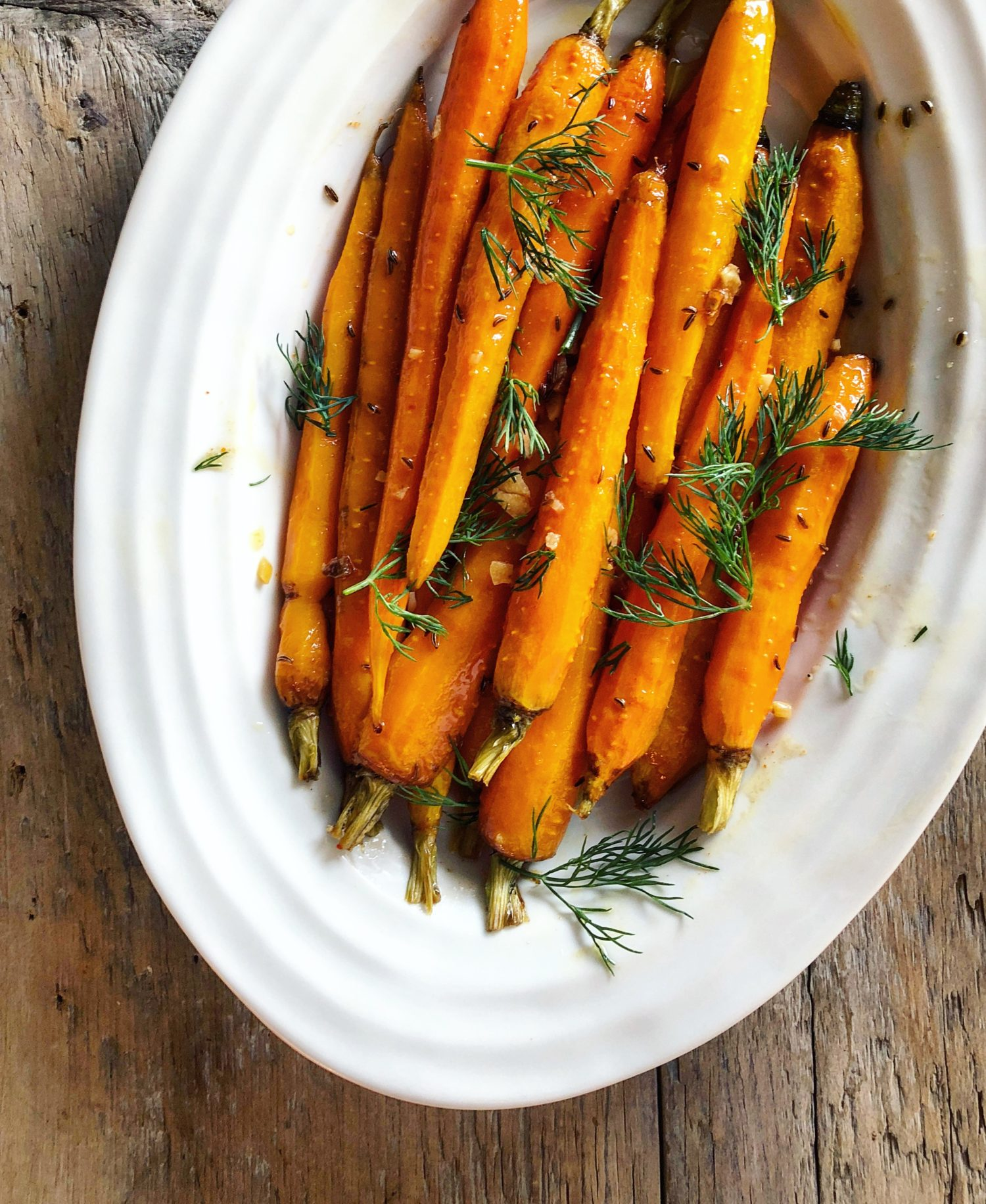 North African Spiced Tunisian Roasted Carrots