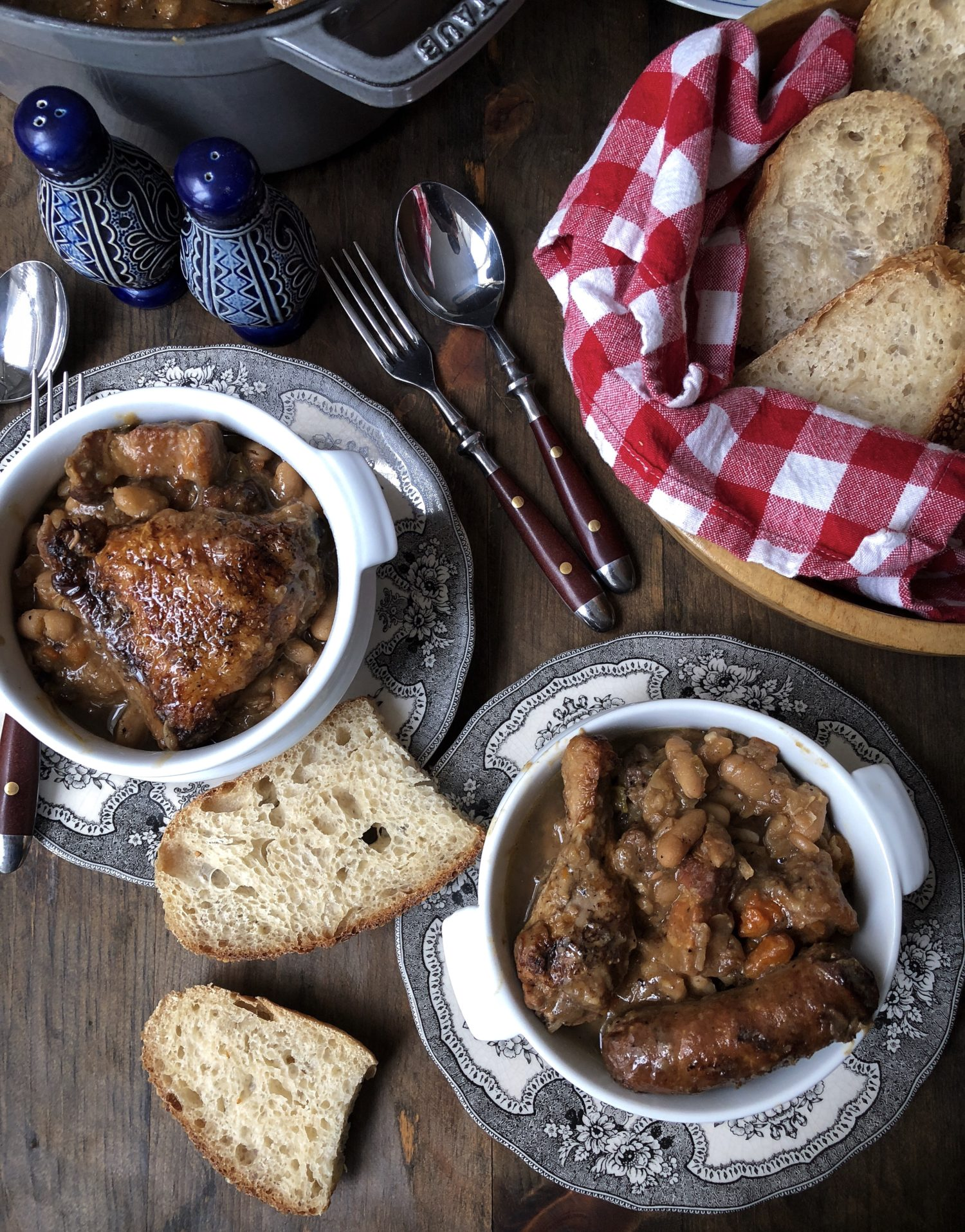 Rich and cozy French Cassoulet