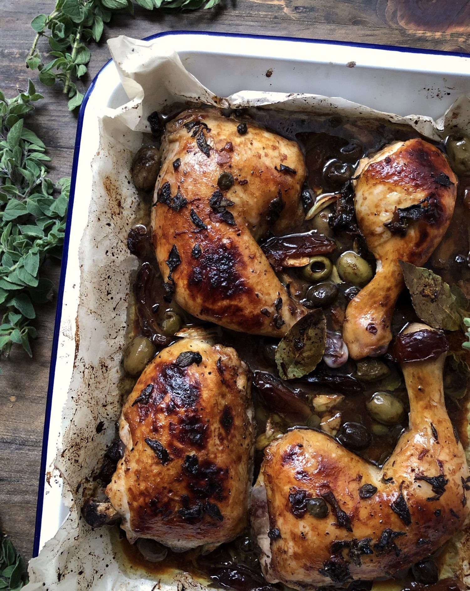 Ottolenghi's exotic and flavourful Marbella Chicken from Simple
