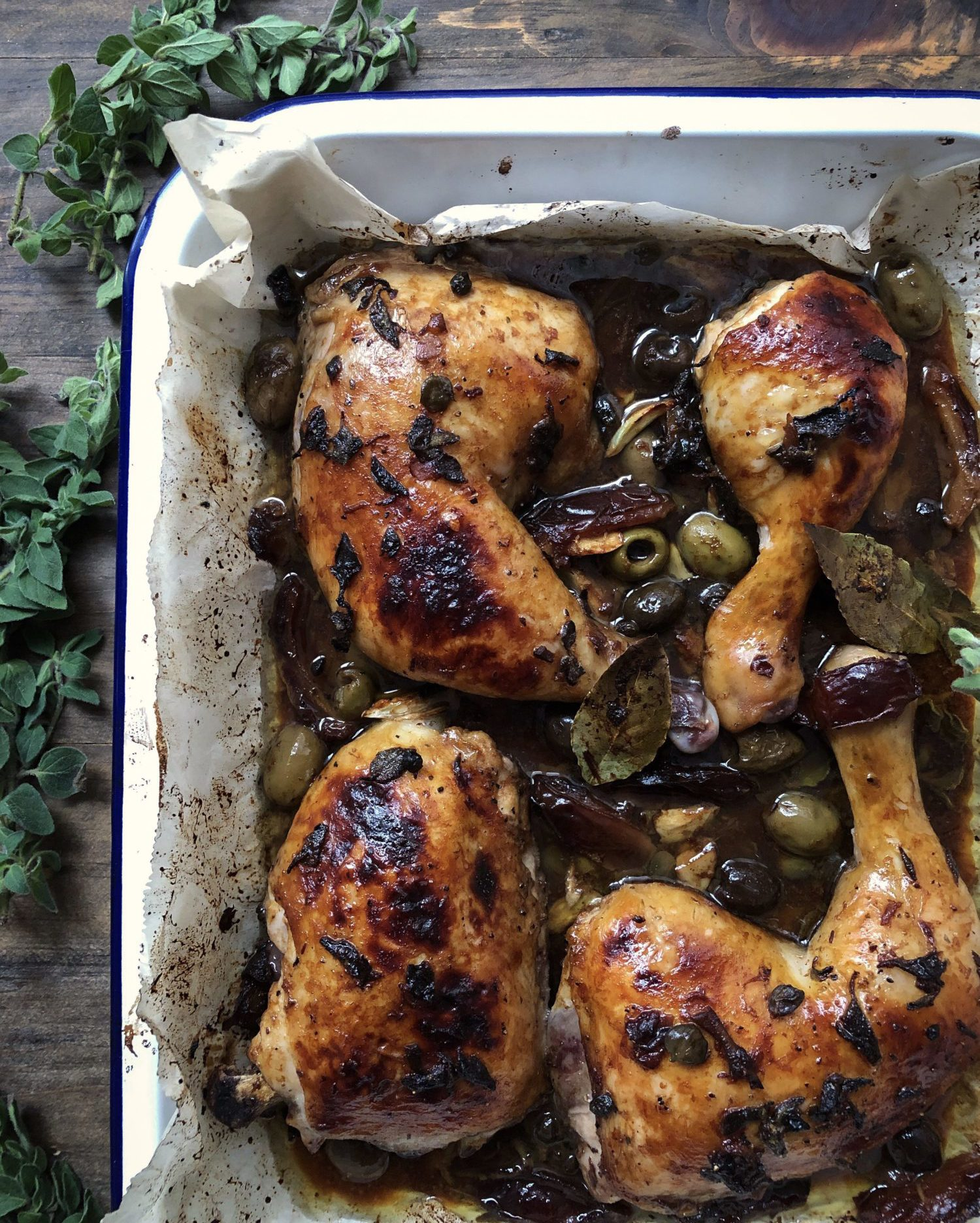 Ottolenghi exotic and flavourful Marbella Chicken from Simple