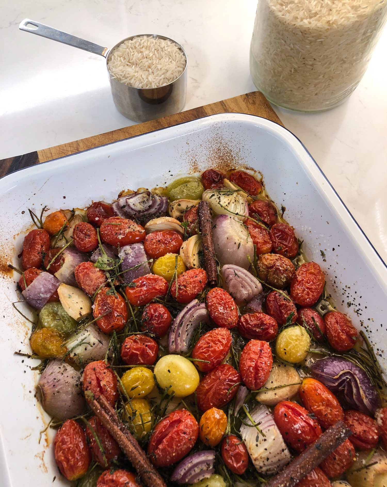 Ottolenghi Tomato and Garlic Confit Rice from Simple