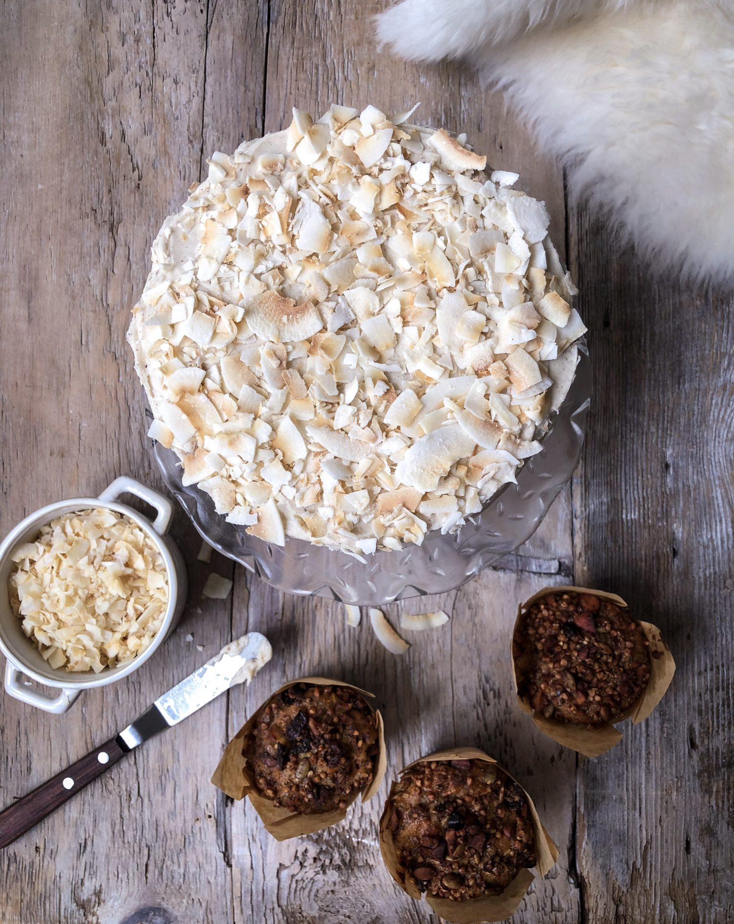 Cardamom Carrot Cake with Allspice Cream Cheese Frosting