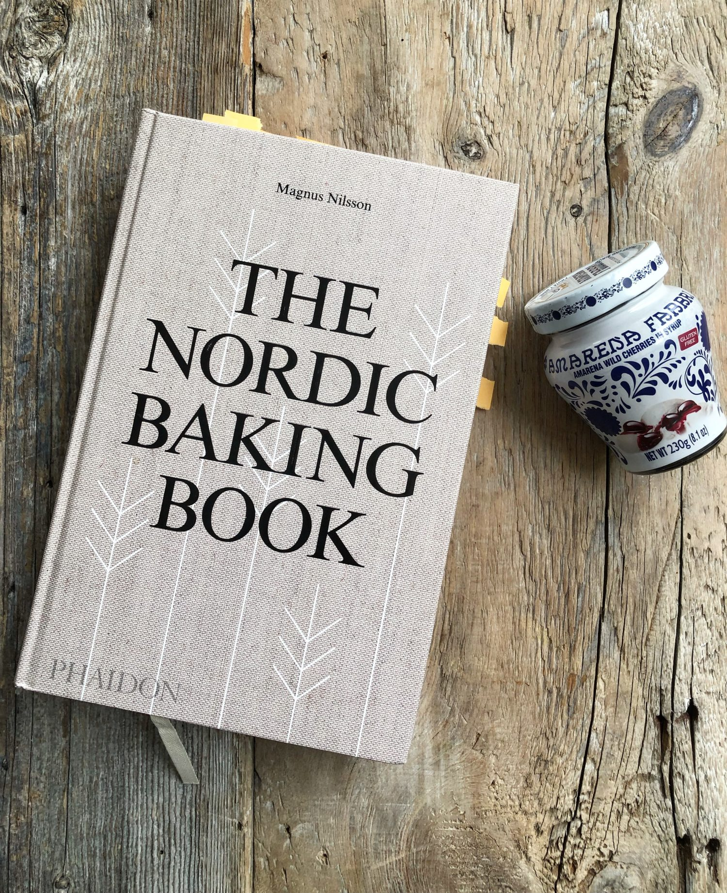 Swedish Rice Pudding with Sour Cherries in Syrup from The Nordic Baking Book by Magnus Nilsson