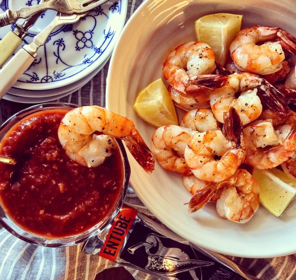 harissa shrimp cocktail