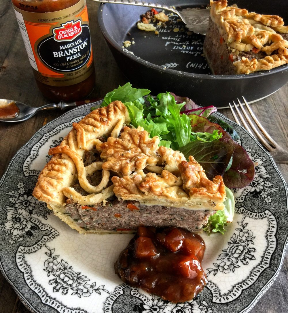 The Best French Canadian Tourtiere, spiced pork meat pie