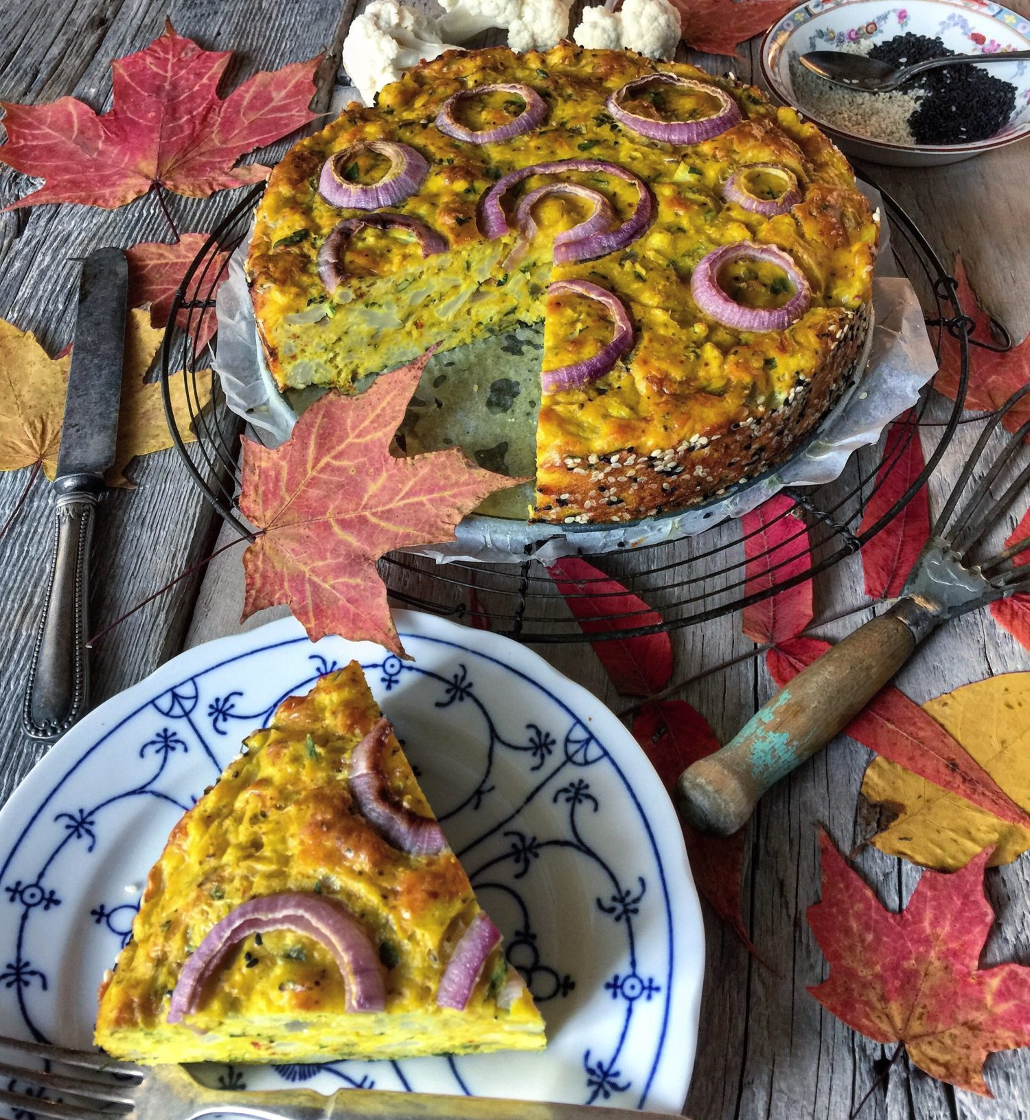 cauliflower cake