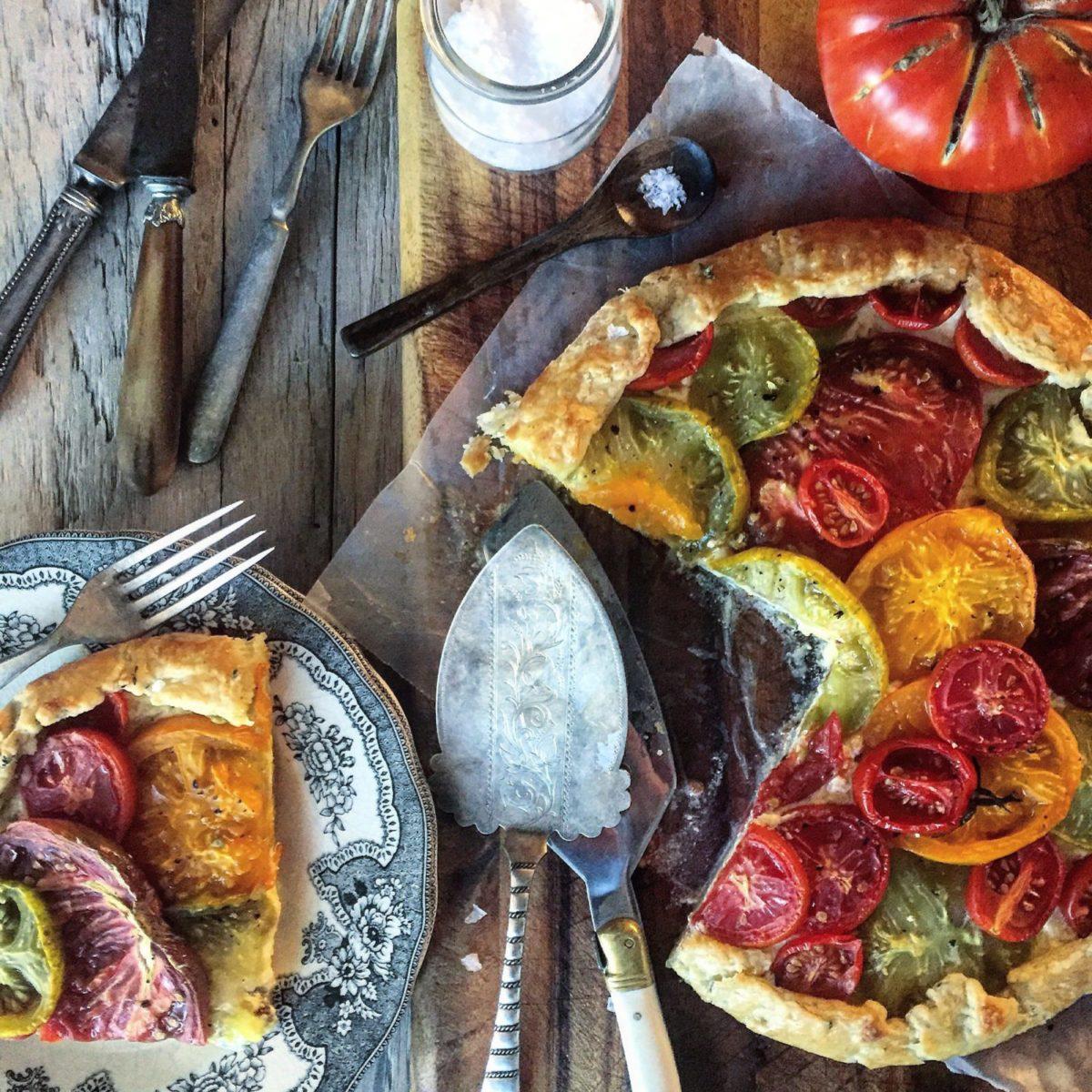 Tomato Crostada