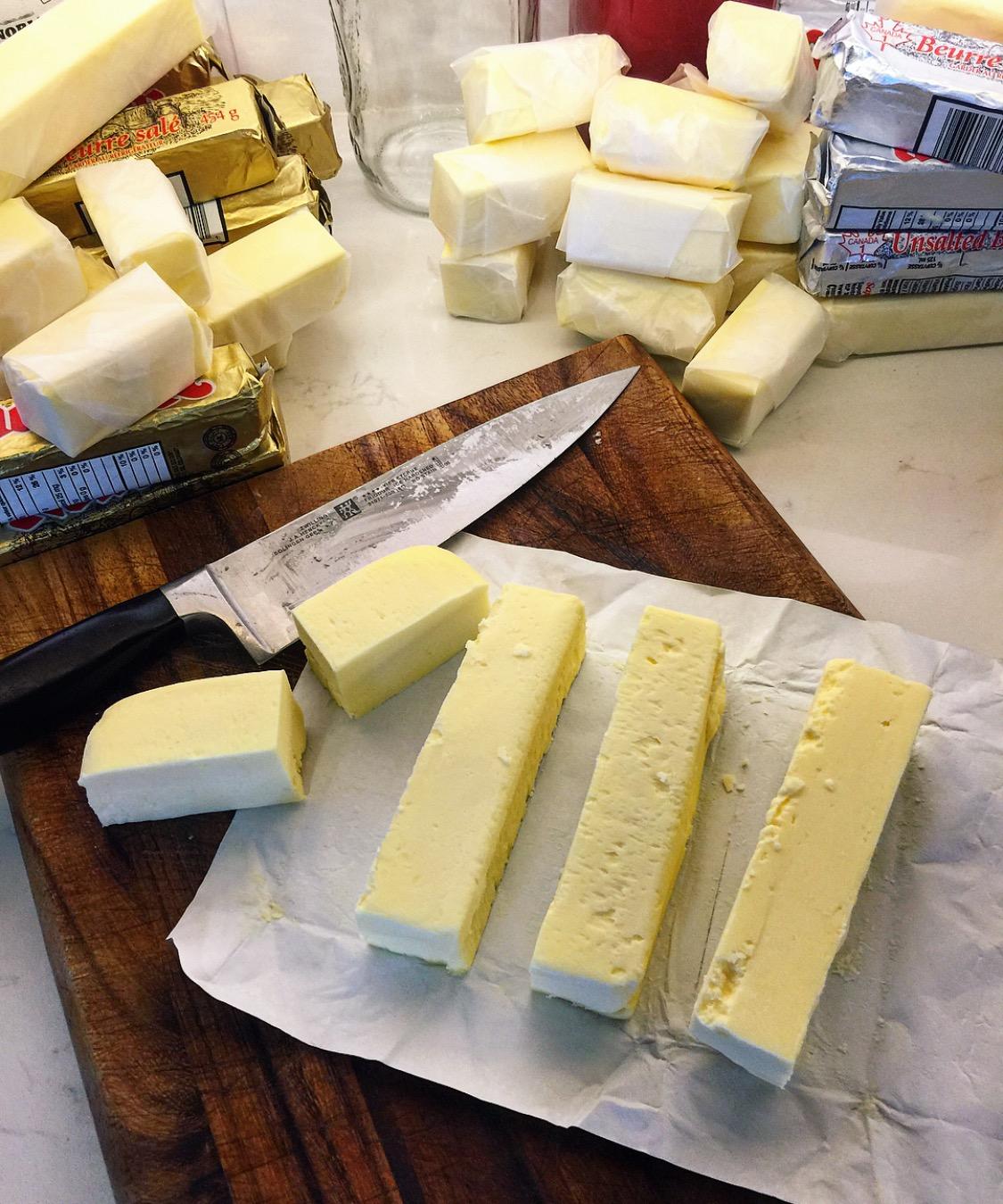 butter prep