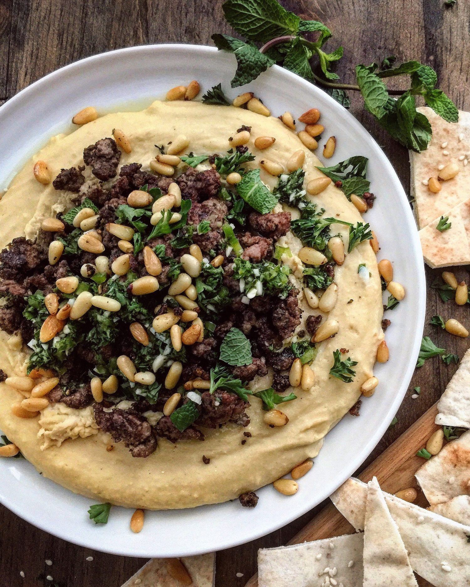 Hummus Kawarma
