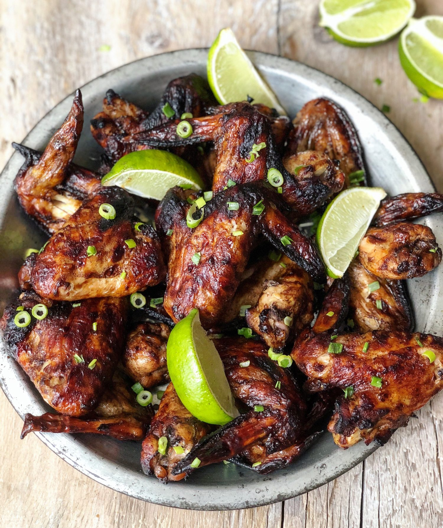 Molé Honey and Lime Chicken Wings