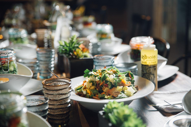 Canola Eat Well Fattoush Salad